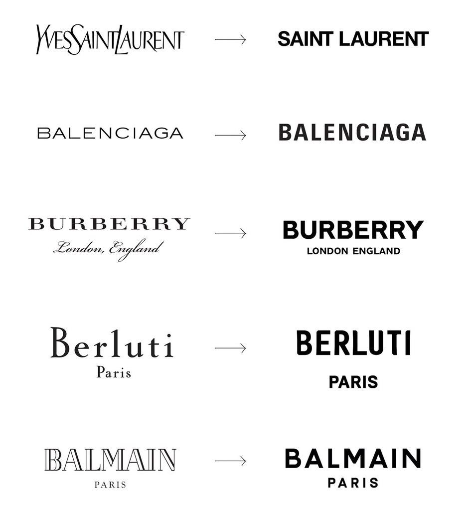 Logo Redesign Modehäuser