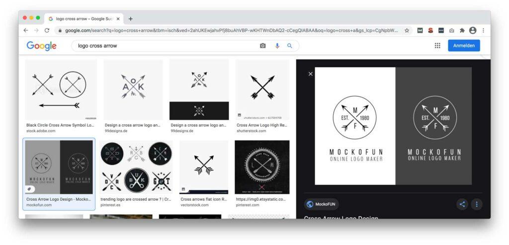 Logotrend cross-arrow